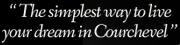 Courchevel Online - Vacances sur mesure à Courchevel