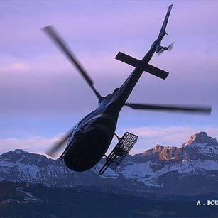 Réservez votre vol découverte en hélicoptère