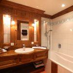 Hôtel Les Peupliers - Salle de bains