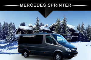 Transfert luxe - Mercedes Sprinter