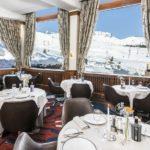 Hôtel Annapurna - Restaurant avec vue sur les pistes