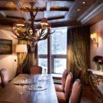 Appartement Jardin Alpin - Salle à manger