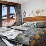 hôtel La Loze - Chambre bleue