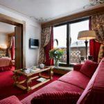 hôtel La Loze - Suite salon et chambre