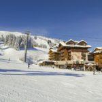 hôtel La Loze - Vue des pistes